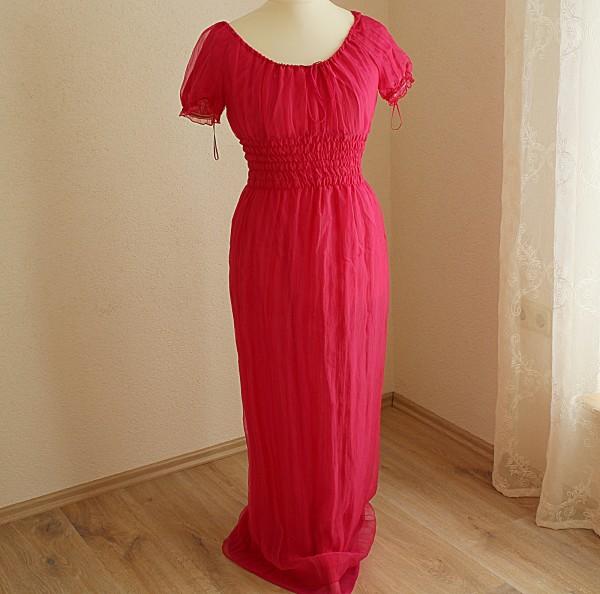 rosa Kleid im Empire Stil Gr 36 Kostüm Mottoparty