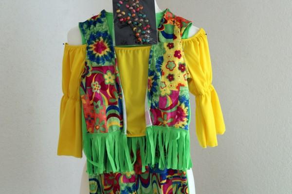 Kinder Hippie Kostüm viele Größen Karneval Fasching