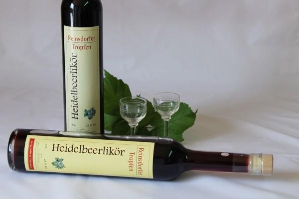 Heidelbeerlikör Likör aus Heidelbeeren hausgemacht 0,5 l 22%Vol.