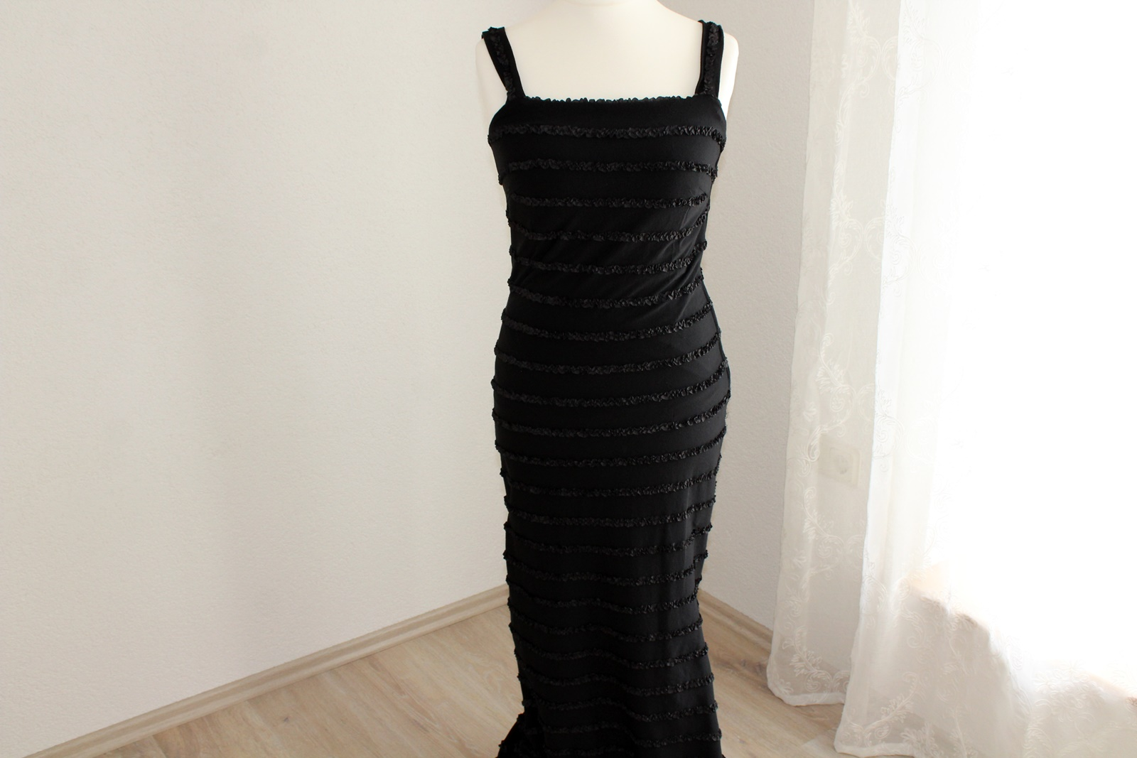 schwarzes kleid lang gr 38 u. 42 abendkleid kostüm