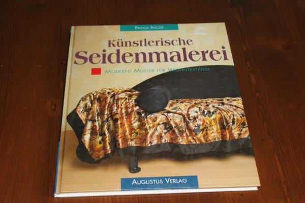 Buch künstlerische Seidenmalerei Anleitung Wohntextilien
