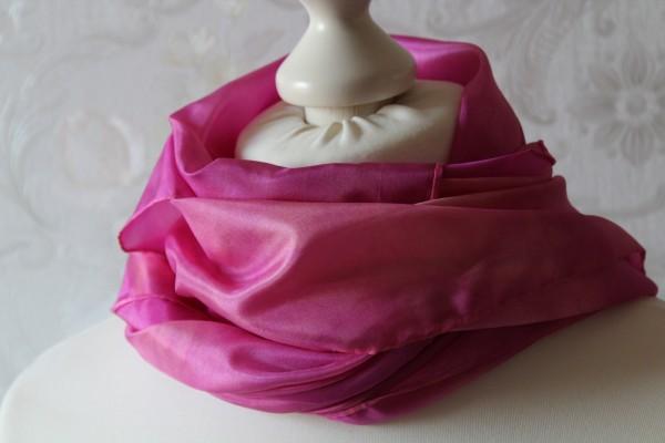 rot violettesTuch oder Schal aus Seide versch. Größen