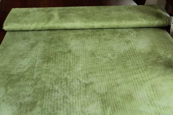 2,60 m Stoff grüner transparenter Dekostoff Gardinen Vorhang