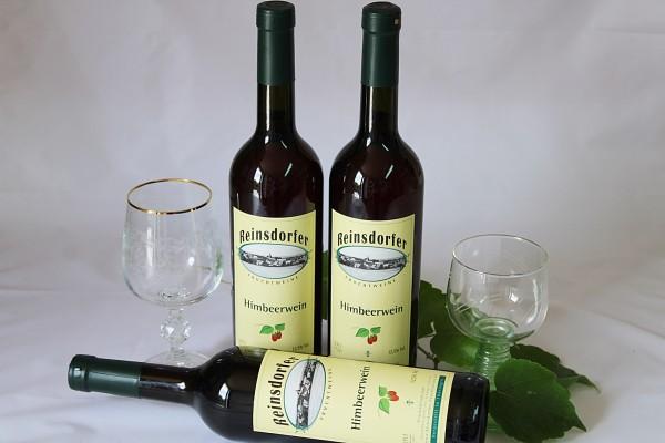 Himbeerwein Beerenwein hausgemachter Fruchtwein