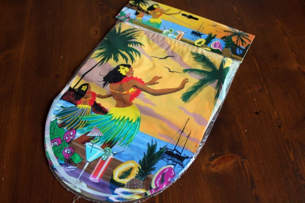 Wimpelkette 6m Hawaii Wimpel Sommer Strand Party