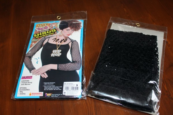 schwarze Ärmel Netzärmel Bolero Kostüm Zubehör Karneval