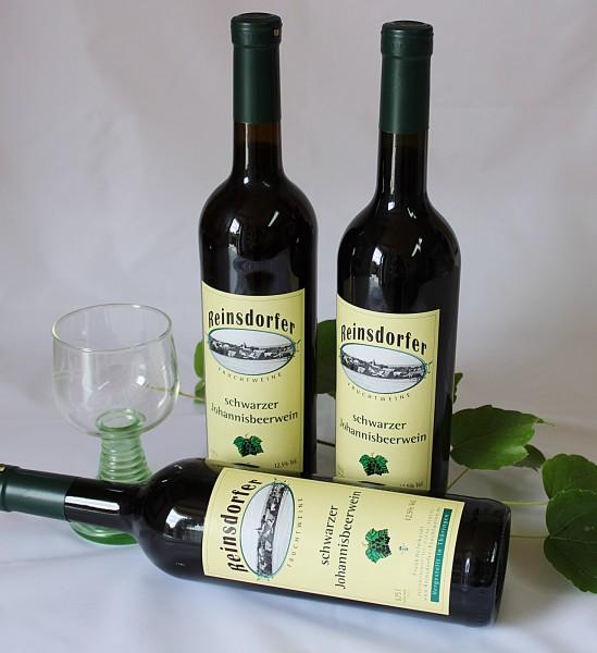 Wein Schwarze Johannisbeere Fruchtwein hausgemacht