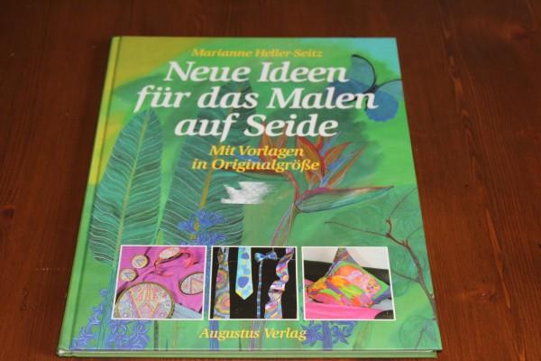 Buch Anleitung Neue Ideen für das Malen auf Seide