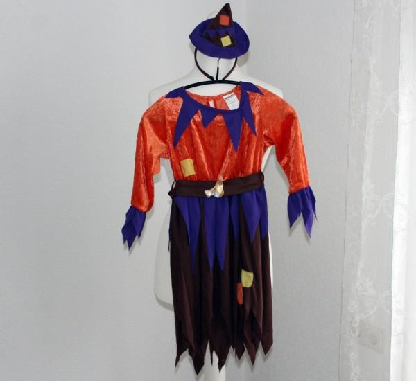kleine Vogelscheuche Kinder Kostüm Gr 116 u 128 Fasching