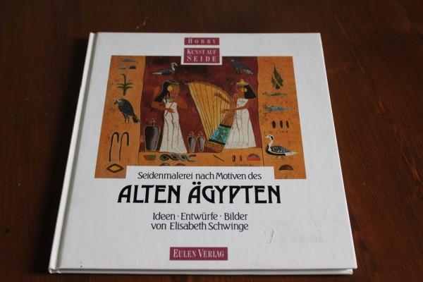 Seidenmalerei nach Motiven des alten Ägypten Buch Anleitung