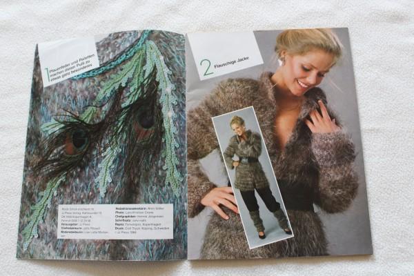 Zeitschrift Mode Strick Anleitung Heft Stricken