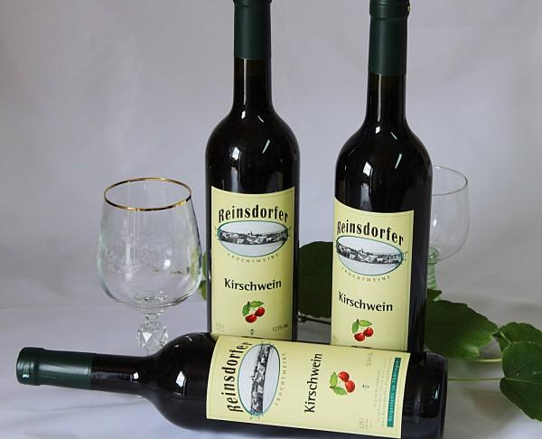 Kirschwein Trocken hausgemachter Fruchtwein aus Sauerkirschen