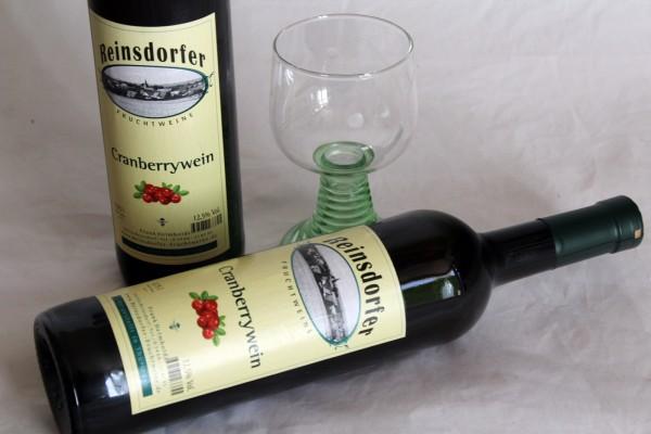 Cranberry Wein Fruchtwein hausgemacht