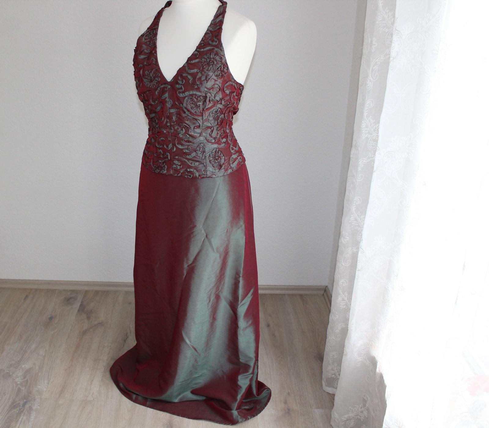 16 teiliges langes Kleid Gr 16 Abendkleid Kostüm Karneval
