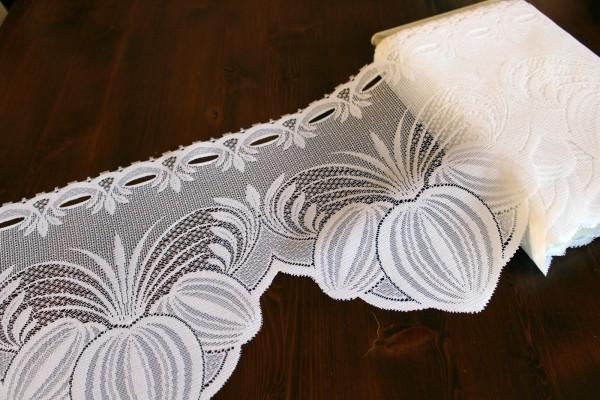 Bistrogardine dekoratives Muster Gardine H 28 cm