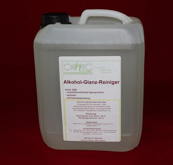 Alkohol Glanz Reiniger Naturprodukt 5 l Kanister Alkoholreiniger